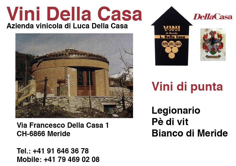 Ticinowine azienda vinicola di luca della casa for Planimetrie della casa di gambrel