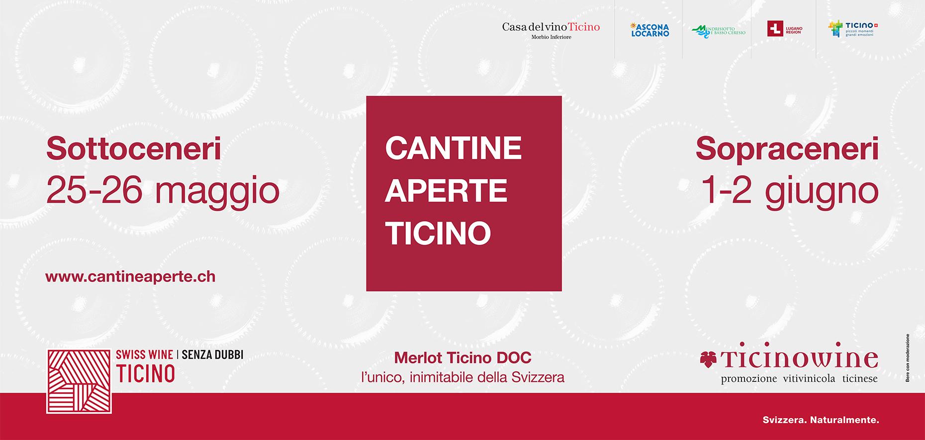 Calendario 2020 Ticino.Cantine Aperte 2019 Ticinowine
